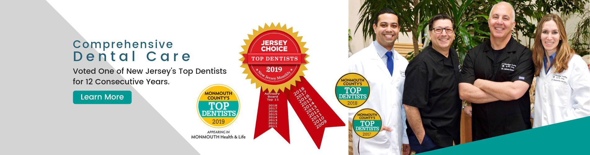 voted top dentists in NJ