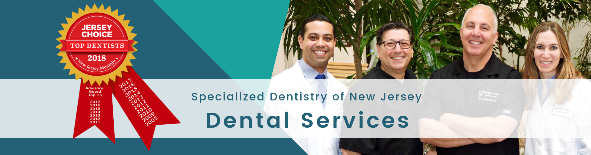 dental services from specialized dentistry of new jersey