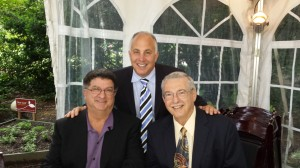 (left) Dr. Dennis Tarnow, Dr. James Courey, Dr. Gary Greenstein